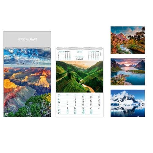 calendar perete peisaje